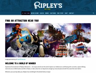 ripleyattractions.com screenshot