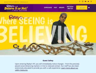 ripleysnewyork.com screenshot
