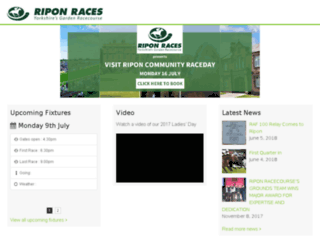 ripon-races.co.uk screenshot