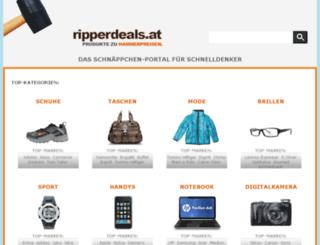 ripperdeals.at screenshot