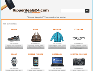 ripperdeals24.com screenshot
