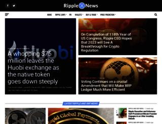 ripplecoinnews.com screenshot
