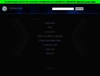riptube.com screenshot