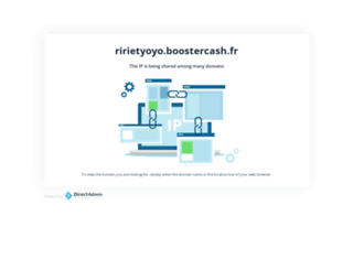 ririetyoyo.boostercash.fr screenshot