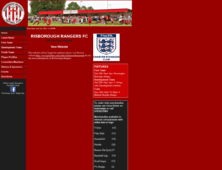 risboroughrangers.com screenshot