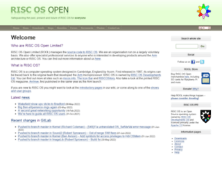 riscosopen.org screenshot