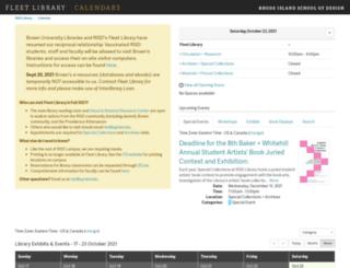 risd.libcal.com screenshot