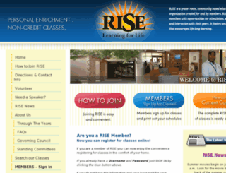 rise.heroku.com screenshot