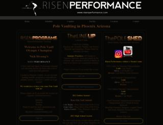 risenperformance.com screenshot