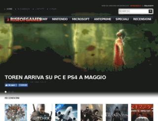 riseofgames.com screenshot