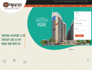 riseorganichomes.com screenshot