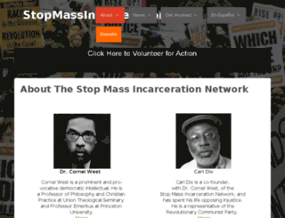 riseupoctober.nationbuilder.com screenshot