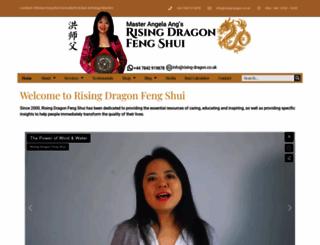 rising-dragon.co.uk screenshot