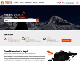 risingadventure.com screenshot