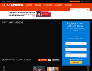 risinghype.com screenshot