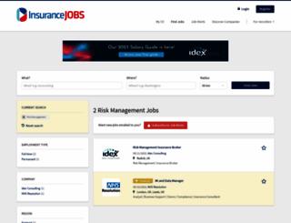riskcareers.com screenshot