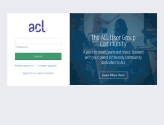 risks.aclgrc.com screenshot