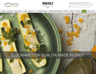 risoli.com screenshot