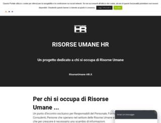 risorseumane-hr.it screenshot