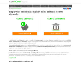 risparmio.supermoney.eu screenshot