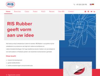 risrubber.nl screenshot