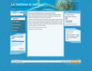 ristorantelataverna.webnode.it screenshot