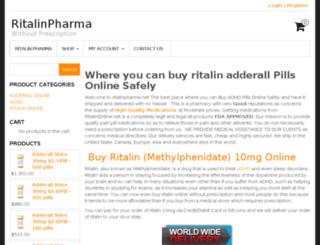 ritalinpharma.net screenshot