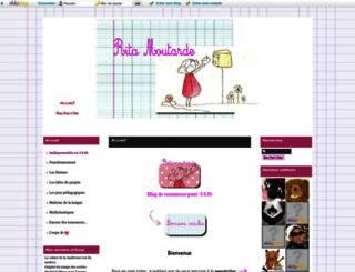 ritamoutarde.eklablog.com screenshot