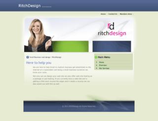 ritchdesign.com screenshot
