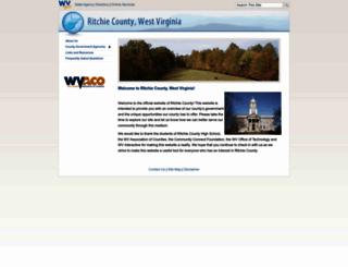 ritchiecounty.wv.gov screenshot
