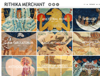 rithikamerchant.com screenshot