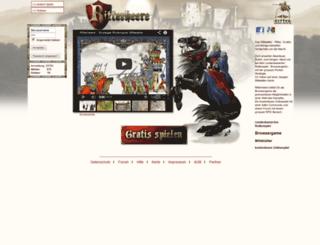 ritterheere.de screenshot