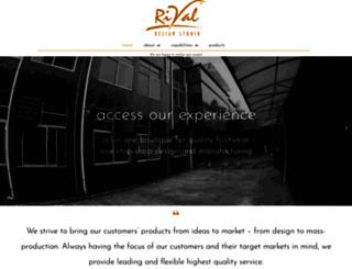 rivalshoedesign.com screenshot