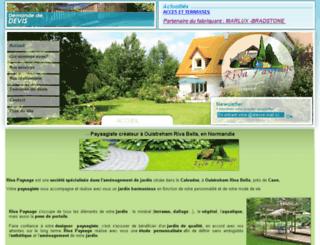 rivapaysage.fr screenshot