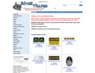 river-village.com screenshot