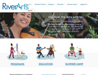 riverarts.org screenshot
