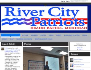 rivercitypatriots.ning.com screenshot