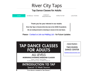rivercitytaps.com screenshot