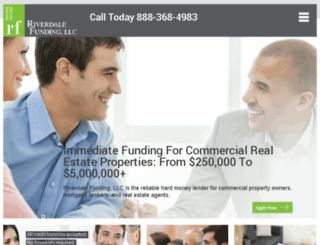 riverdalefunding.com screenshot
