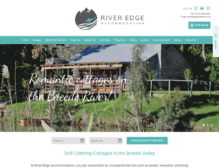 riveredgeaccom.co.za screenshot