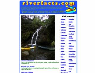 riverfacts.com screenshot