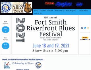 riverfrontbluesfest.org screenshot