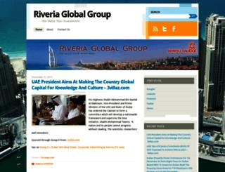 riveriaglobalgroup.wordpress.com screenshot