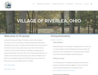 riverleaohio.com screenshot