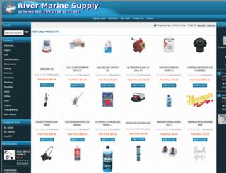 rivermarinesupply.com screenshot