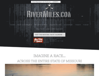 rivermiles.com screenshot