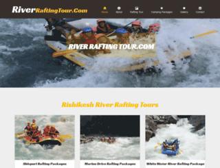riverraftingtour.com screenshot