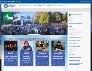 riverrhythms.org screenshot