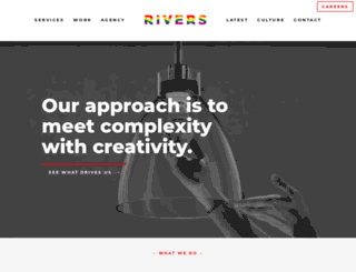 riversagency.com screenshot