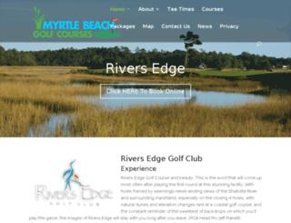 riversedge.myrtlebeachgolfcourse.com screenshot